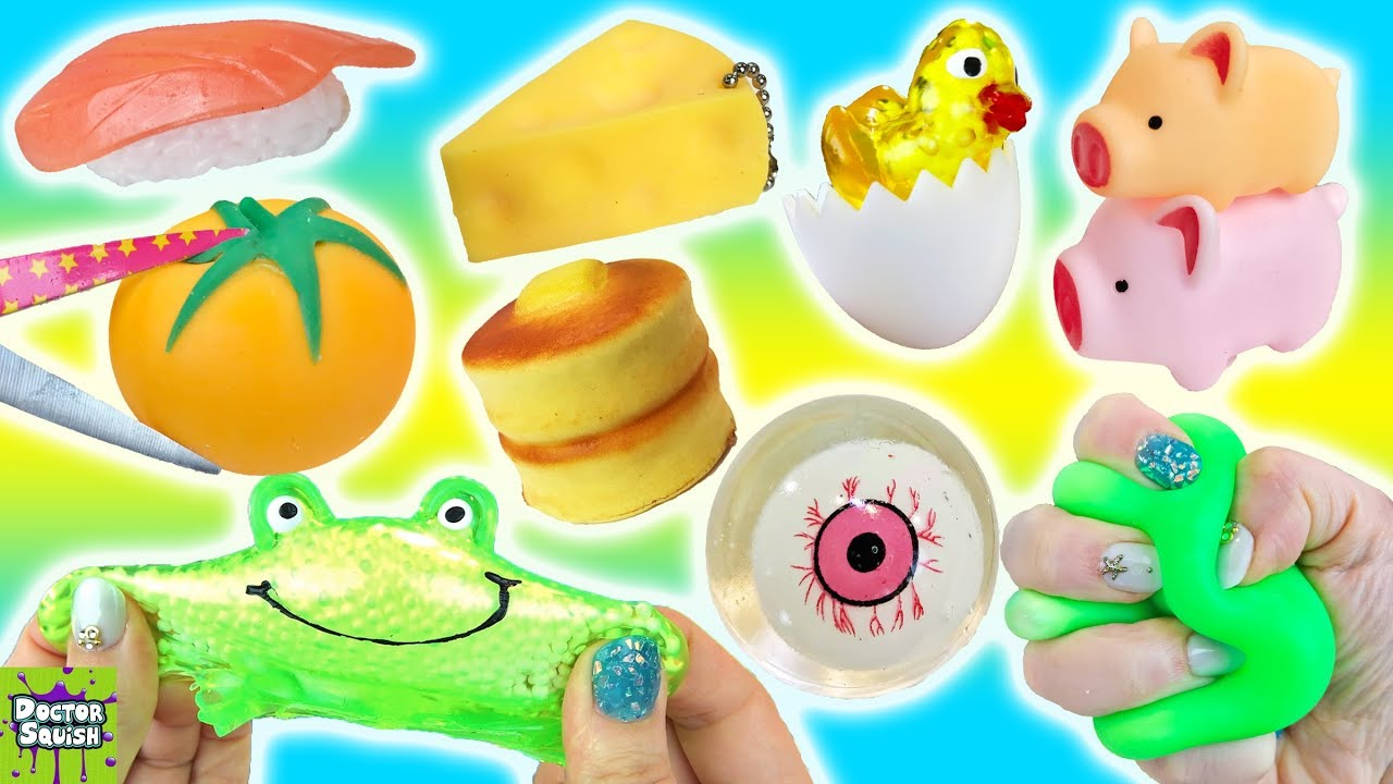 Squishy Haul From Thailand : Can You Buy Good Squishy Toys For   USD1.00? Dollar Store S... Doovi