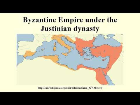 Byzantine Empire under the Justinian dynasty