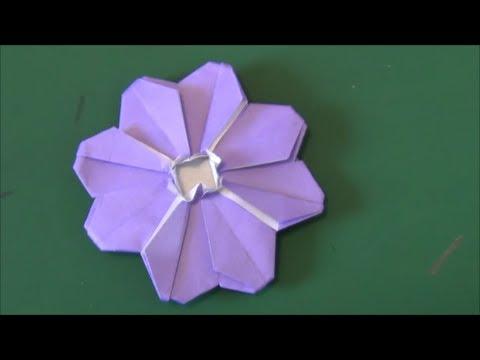ハート 折り紙 コスモス折り紙作り方 : youtube.com
