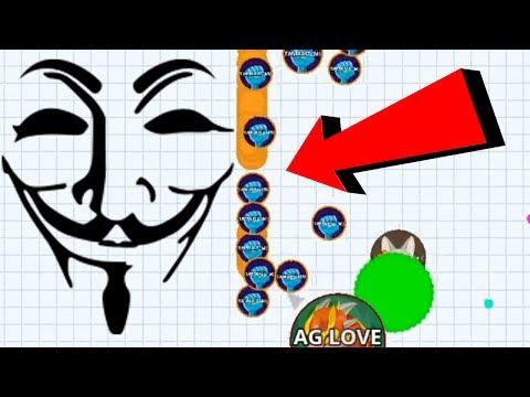 Agar.io Solo Vs Noob Hacker Agario Best Funny Moments