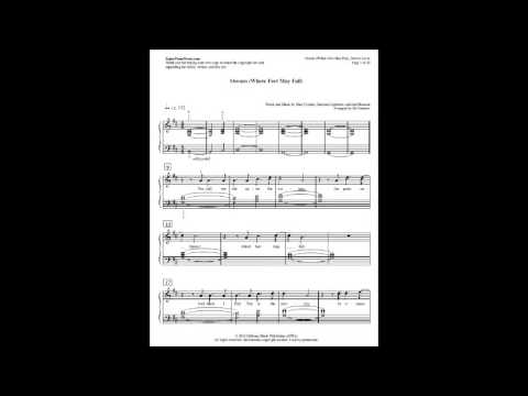 Oceans (Where Feet May Fail) Hillsong United Sheet Music PDF | Oceans Hillsong United Piano Notes
