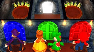 Mario Party 9 MiniGames Mario Vs Waluigi Vs Daisy Vs Yoshi (Master Difficulty)