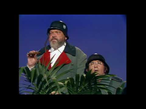 Orson Welles And Wolfgang | Rowan & Martin's Laugh-In | George Schlatter
