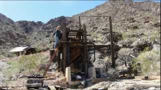 Exploring the El Sid Gold Mine, 29 Palms CA,, Area, Undisclosed Location
