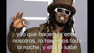 Hay algo que me gusta de ti Wisin y Yandel ft Chris Brown y T-Pain. letra español/ingles
