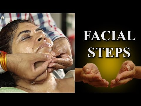 Proper Hand Movements Technique For Facial | Prabha Makeover