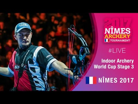 Live Session: Recurve and Compound Finals | Nimes 2017 Indoor Archery World Cup Stage 3