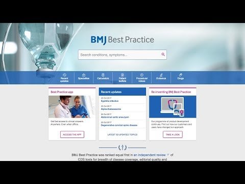 A brand new BMJ Best Practice website