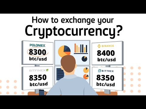 How to exchange Cryptocurrency? #Cryptocurrency
