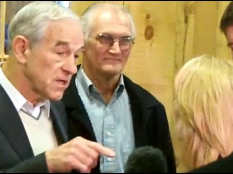 Ron Paul Heated CNN Interview