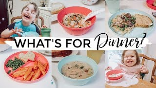WHAT'S FOR DINNER?  PICKY TODDLER FAVORITES!!!   FAMILY MEAL IDEAS + RECIPES  2019   Justine Marie