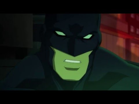 Nightwing says that he hates to being Batman