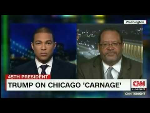 Michael Eric Dyson agrees with President Trump about Violence in Chicago