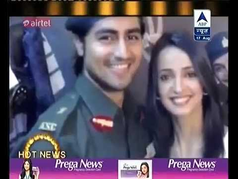 Harshad Chopda And Sanaya Irani Start Shopping For Their Look In Meenu Mausi : SBS *17th August 2016