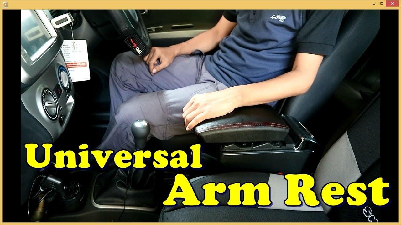 Repeat Universal Arm Rest Mobil Review dan Pemasangan by