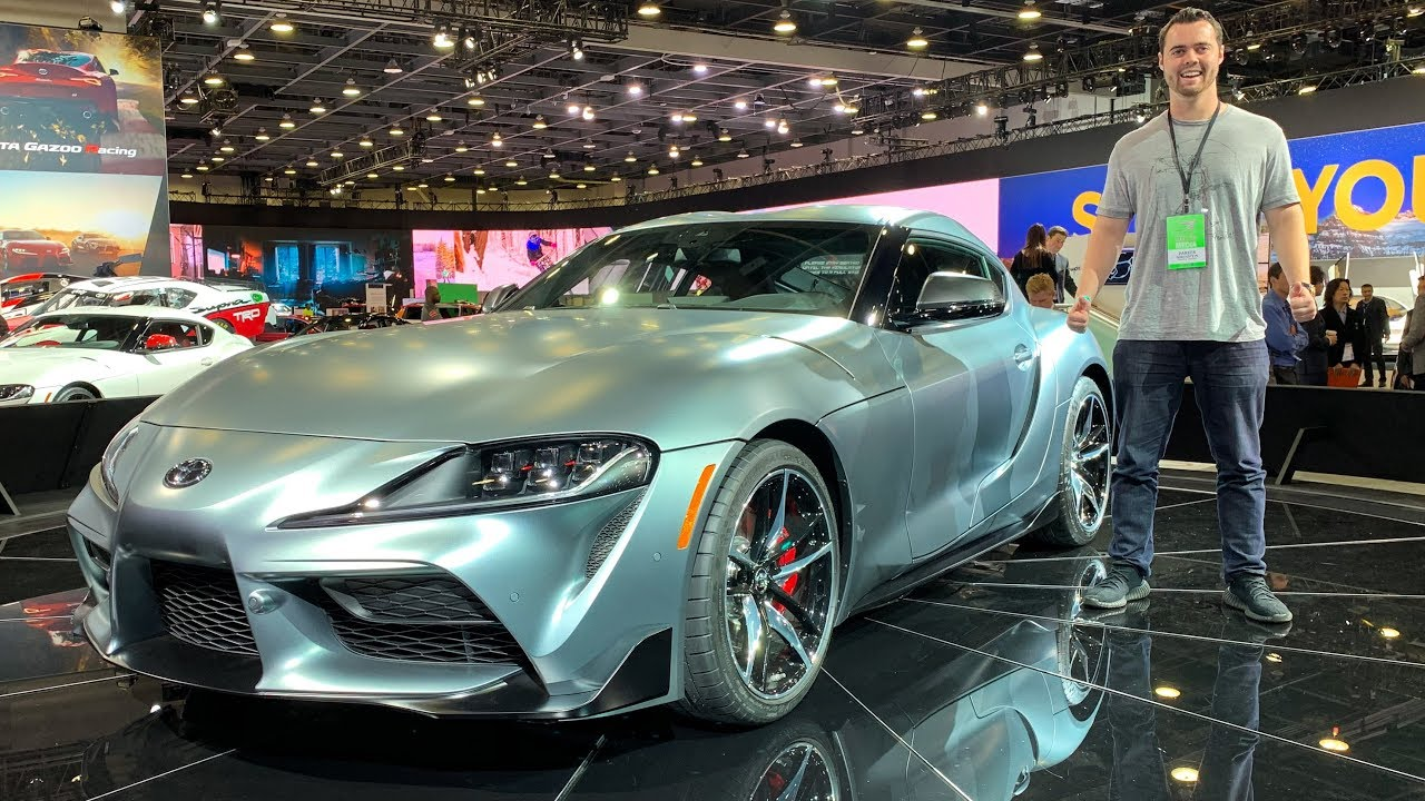2020 Toyota Supra First Look! *Worth $50,000?*