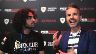 "[Italian] PES 2016 @E3 - Intervista ad Antonio ""Tanzen"" Fucito di Multiplayer.it"