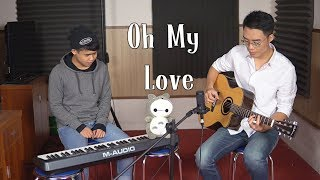 Oh My Love (John Lennon) - Acoustic Cover by Minh Mon & Vu Minh