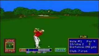 PGA Tour Golf II sur Megadrive