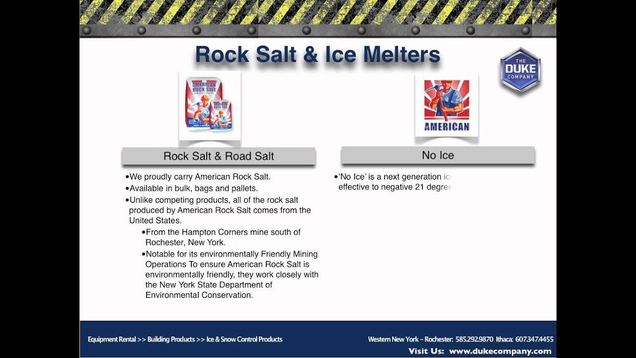 Rock Salt Road Salt Ice Melt distribution in Rochester NY