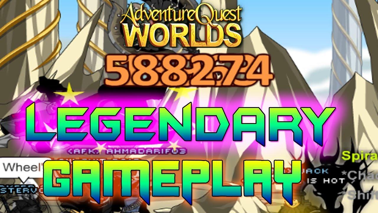 AQWorlds Legendary Gameplay