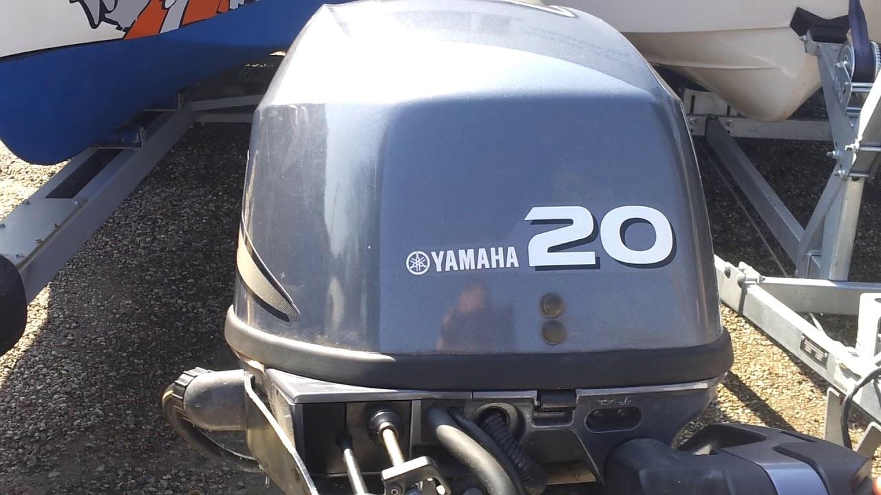 2010 yamaha 20 hp outboard motor 4-stroke ( 4-SUW )