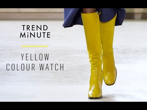 Trend Minute: Yellow Colour Watch