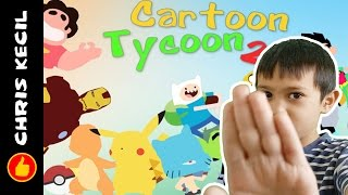 ALL YOUR FAVOURITE CARTOON CHARACTERS! | Roblox Cartoon Tycoon 2, played by Chr