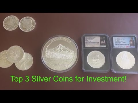 The 3 Best Silver Coins for Investment