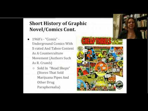 The Graphic Novel as Literature