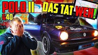 Die ENTTÄUSCHUNG! - Polo II G40 - Leistung messen! - Teil 3/3