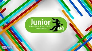 Junior Eurovision Song Contest 2004 | TOP 5 songs