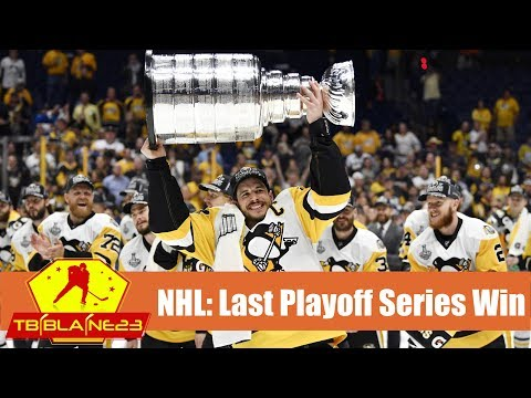Every NHL Team's Last Playoff Series Win