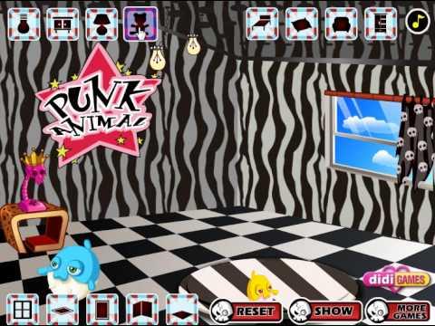 Decorate Punk Girls Room (Переделка комнаты в стиле панк) - прохождение игры