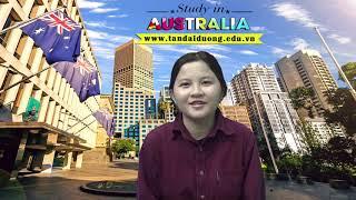 Chia sẻ ước mơ du học Úc của em Thảo Nhi