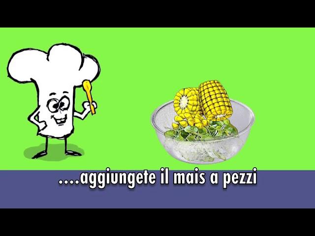 Le ricette facili di Andrea Maino - zuppa di crescione
