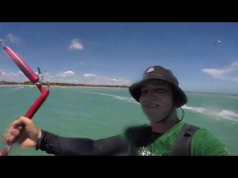 Downwind de Kitesurf no Litoral Norte de Alagoas