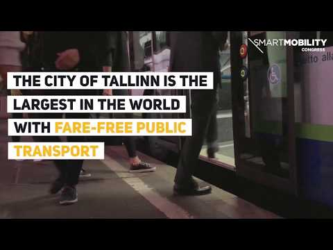 Tallinn is the largest city in the world with fare-free public transport