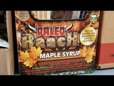 Maple Syrup Beef Jerky? (Paleo Ranch)