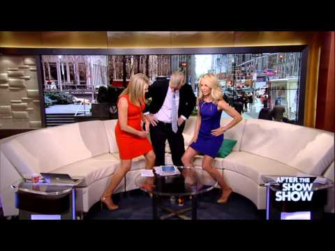 Heather Nauert & Elizabeth Hasselbeck Cheerleading  ATSS 4 29 2014
