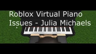 Issues - Roblox Virtual Piano