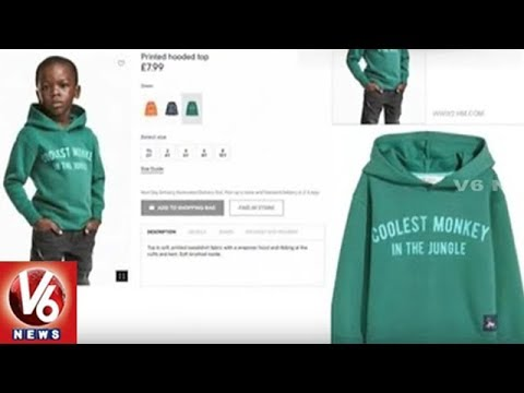 H&M's Controversial Coolest Monkey Hoodie Creats A Buzz On Social Media | V6 News