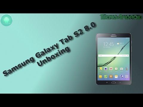 Samsung Galaxy Tab S2 8.0 unboxing ITA