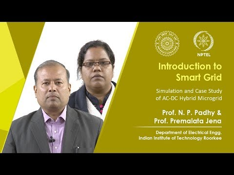 NPTEL : NOC:Introduction to Smart Grid (Electrical Engineering)
