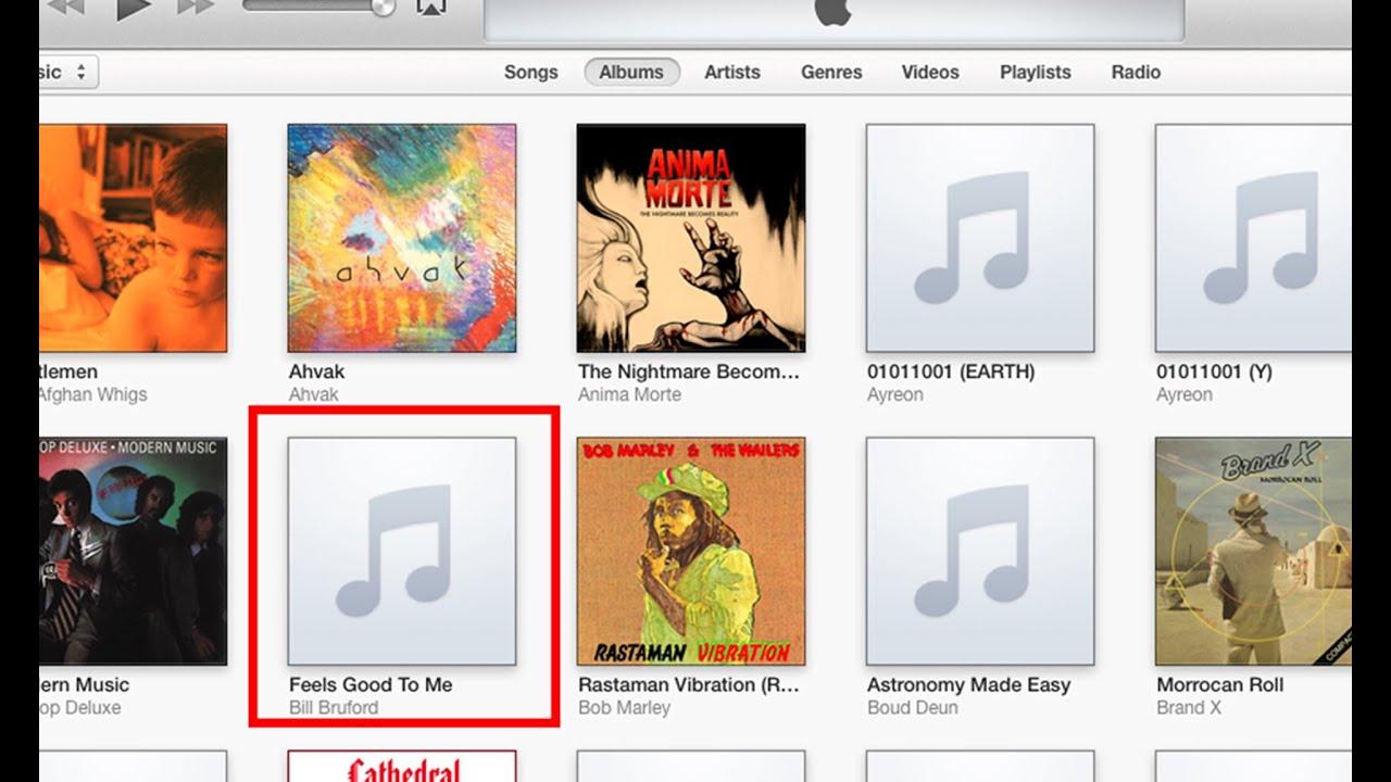 Fix Missing iTunes Album Artwork (EASY FIX)