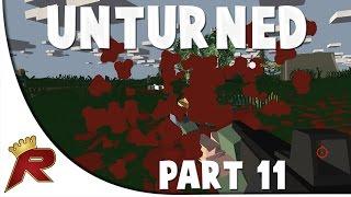 "Unturned Survival Gameplay - Part 11: ""bridge"""