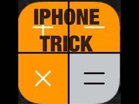 iPhone Calculator Trick