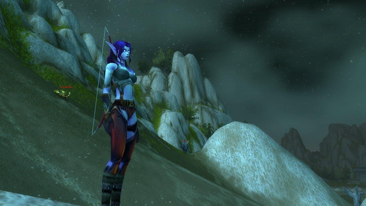 World Of Warcraft Info: Leveling as Void Elf Hunter with Marksmanship spec  34-38