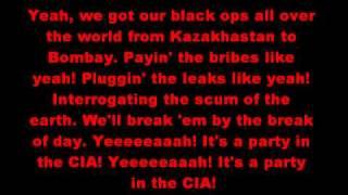 """Weird Al"" Yankovic - Party In the CIA Lyrics"