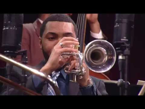 Portrait of Louis Armstrong - Wynton Marsalis & The Young Stars of Jazz at